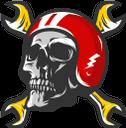 череп, человеческий череп, мотоциклетная эмблема, гаечный ключ, автомастерская, skull, human skull, motorcycle emblem, wrench, body shop, schädel, menschlicher schädel, motorrademblem, schraubenschlüssel, karosseriewerkstatt, crâne, crâne humain, emblème de la moto, clé, carrosserie, cráneo, cráneo humano, emblema de la motocicleta, llave inglesa, taller de carrocería, teschio, teschio umano, emblema di motocicletta, chiave inglese, carrozzeria, crânio, crânio humano, emblema da motocicleta, chave inglesa, loja de corpo, людський череп, мотоциклетна емблема, гайковий ключ, автомайстерня