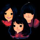 3 girls, девушка, девочка, girl
