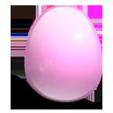 huevo, rosa, luz