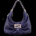 fendi purple bag