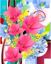 цветы, цветочная композиция, красный тюльпан, мимоза, флора, flowers, flower arrangement, red tulip, blumen, blumenarrangement, rote tulpe, mimose, fleurs, composition florale, tulipe rouge, flore, arreglo floral, tulipán rojo, fiori, composizione floreale, tulipano rosso, flores, arranjo de flores, tulipa vermelha, mimosa, flora, квіти, квіткова композиція, червоний тюльпан, мімоза