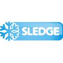 sledge, button
