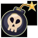 bomb, scull, череп, бомба