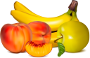 фрукты, банан, персик, яблоко, фруктовое ассорти, peach, apple, fruit platter, obst, pfirsich, apfel, obstteller, fruit, banane, pêche, pomme, plateau de fruits, plátano, melocotón, manzana, fuente de fruta, frutta, pesca, mela, piatto di frutta, fruta, banana, pêssego, maçã, prato de frutas, фрукти, яблуко, фруктове асорті