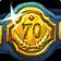 achievement, level, 70