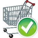 shopping cart, accept, корзина для покупок, тележка для покупок, подтвердить
