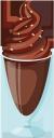 мороженое, шоколадное мороженое, мороженое в стакане, десерт, ice cream, chocolate ice cream, ice cream in a glass, eis, schokoladeneis, eis im glas, crème glacée, glace au chocolat, glace dans un verre, helado, helado de chocolate, helado en vaso, postre, gelato, gelato al cioccolato, gelato in un bicchiere, dessert, sorvete, sorvete de chocolate, sorvete em um copo, sobremesa, морозиво, шоколадне морозиво, морозиво в склянці