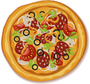 еда, пицца, итальянская кухня, пицца с салями, food, italian food, pizza with salami, essen, italienisches essen, pizza mit salami, nourriture, cuisine italienne, pizza au salami, pizza con salami, cibo, cibo italiano, pizza con salame, comida, pizza, comida italiana, pizza com salame, їжа, піца, італійська їжа, піца з салямі