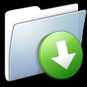 graphite smooth folder drop box