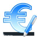 sign euro write