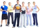 фитнес, физкультура, фитнес клуб, спортсмен, баскетбольный мяч, весы