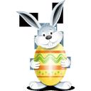 bunny, egg, yellow