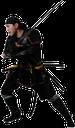 ниндзя, японский ниндзя, самурай, японский самурай, древний воин, средневековый воин, воин с мечом, двуручный меч, катана, черный, маска, меч самурая, меч ниндзи, удар мечом, оружие, оружие ниндзи, нин-дзюцу, разведчик, диверсант, тот кто прячется, лазутчик, наёмный убийца