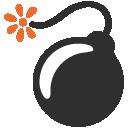 emoji, u1f4a3