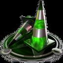 vlc player green