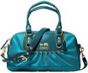 coach turquoise bag