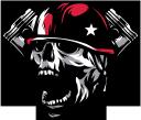 череп, человеческий череп, мотоциклетная эмблема, поршень, skull, human skull, motorcycle emblem, schädel, menschlicher schädel, motorrademblem, kolben, crâne, crâne humain, emblème de la moto, piston, cráneo, cráneo humano, emblema de la motocicleta, pistón, teschio, teschio umano, emblema motociclistico, pistone, crânio, crânio humano, emblema da motocicleta, pistão, людський череп, мотоциклетна емблема