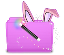 magic bunny folder