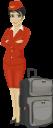 стюардесса, чемодан, люди, путешествие, авиация, профессии людей, бизнес люди, suitcase, travel, people, people's professions, business people, stewardess, koffer, reisen, menschen, luftfahrt, volksberufe, geschäftsleute, hôtesse de l'air, valise, voyage, gens, aviation, professions, gens d'affaires, azafata, maleta, viaje, gente, aviación, profesiones populares, gente de negocios, hostess, valigia, viaggi, persone, aviazione, professioni della gente, uomini d'affari, aeromoça, mala, viagens, pessoas, aviação, profissões das pessoas, pessoas de negócios, стюардеса, подорож, авіація, професії людей, бізнес люди