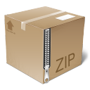 package icon zip