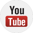 s icons, social media icons, basic, round, set, gradient color, 512x512, 0004, youtube