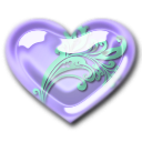 lavender pearl floral 1