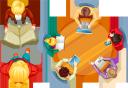 люди вид сверху, люди за столом, люди, people view from above, people at the table, people, leute sehen von oben, leute am tisch, leute, les gens voient d'en haut, les gens à la table, les gens, vista de personas desde arriba, personas en la mesa, personas, le persone vedono dall'alto, le persone al tavolo, le persone, as pessoas vêem de cima, pessoas na mesa, pessoas, люди вигляд згори