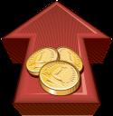 золотая монета, золото, деньги, красная стрелка, gold coin, money, red arrow, goldmünze, geld, gold, roter pfeil, les pièces d'or, d'argent, d'or, flèche rouge, moneda de oro, dinero, flecha roja, moneta d'oro, soldi, oro, freccia rossa, moeda de ouro, dinheiro, ouro, seta vermelha, золота монета, гроші, червона стрілка