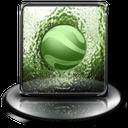 classic green google earth