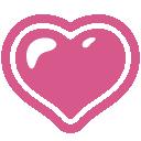 emoji, u1f497