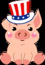розовый поросенок, сша, свинья, символ года, год свиньи, новый год, pink pig, pig, symbol of the year, year of the pig, new year, rosa schwein, schwein, symbol des jahres, jahr des schweins, neujahr, cochon rose, cochon, symbole de l'année, année du cochon, nouvel an, cerdo rosado, cerdo, símbolo del año, año del cerdo, año nuevo, maiale rosa, maiale, simbolo dell'anno, anno del maiale, anno nuovo, porco rosa, porco, símbolo do ano, ano do porco, ano novo, рожеве порося, свиня, символ року, рік свині, новий рік