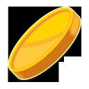 coin, gold coin, gold dollar coin, золотая монета, золотой доллар