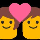 emoji, u1f491