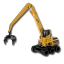 катерпиллер, погрузчик, кат, material handler, caterpillar, forklift, cat, lader, chargeur, cargador, carregador, катерпіллер, навантажувач