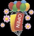 воздушный шарик, inflatable balloon, повітряна кулька, надувной шарик, разноцветные воздушные шары, праздник, вывеска, открыто, balloon, colorful balloons, holiday, signboard, open, bunte luftballons, urlaub, zeichen, öffnen, ballon, ballons colorés, vacances, signe, ouvert, globo, globos de colores, fiesta, muestra, abierta, palloncino, palloncini colorati, vacanza, segno, aperto, balão, balões coloridos, feriado, sinal, aberta, надувна кулька, різнокольорові повітряні кулі, свято, вивіска, відкрито
