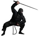 ниндзя, японский ниндзя, древний воин, средневековый воин, воин с мечом, двуручный меч, катана, черный, маска, меч самурая, меч ниндзи, удар мечом, оружие, оружие ниндзи, нин-дзюцу, разведчик, диверсант, тот кто прячется, лазутчик, наёмный убийца