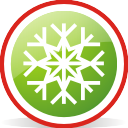 snowflake, rounded
