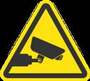 знак, предупреждающие знаки, знак видеокамера, знак видеонаблюдение, sign, warning signs, video camera sign, video surveillance sign, zeichen, warnzeichen, videokamera zeichen, videoüberwachung zeichen, signe, signes avant-coureurs, signe de caméra vidéo, signe de surveillance vidéo, señal, señales de advertencia, señal de cámara de video, señal de video vigilancia, segno, segnali di pericolo, segno della videocamera, segno di videosorveglianza, sinal, sinais de alerta, sinal de câmera de vídeo, sinal de vigilância de vídeo, попереджувальні знаки, знак відеокамера, знак відеоспостереження