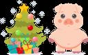 розовый поросенок, свинья, символ года, год свиньи, новый год, pink pig, pig, symbol of the year, year of the pig, new year, rosa schwein, schwein, symbol des jahres, jahr des schweins, neujahr, cochon rose, cochon, symbole de l'année, année du cochon, nouvel an, cerdo rosado, cerdo, símbolo del año, año del cerdo, año nuevo, maiale rosa, maiale, simbolo dell'anno, anno del maiale, anno nuovo, porco rosa, porco, símbolo do ano, ano do porco, ano novo, рожеве порося, свиня, символ року, рік свині, новий рік, ёлка