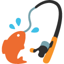 emoji, u1f3a3