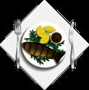 жареная рыба, тарелка с рыбой, сервировка, тарелка с едой, продукты питания, еда, fried fish, plate with fish, serving, plate with food, food, gebratener fisch, teller mit fisch, menü, servieren, teller mit essen, essen, poisson frit, assiette de poisson, portion, assiette de nourriture, nourriture, pescado frito, plato con pescado, menú, servicio, plato con comida, pesce fritto, piatto con pesce, porzione, piatto con cibo, cibo, peixe frito, prato com peixe, menu, servindo, prato com comida, comida, смажена риба, тарілка з рибою, меню, сервіровка, тарілка з їжею, продукти харчування, їжа