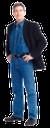 мужчина в пиджаке, черный пиджак, голубые джинсы