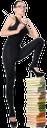 девушка, учительница, обучение, книга, указка, девушка в черном, очки, стопка книг, girl, teacher, training, book, girl in black, glasses, stack of books, mädchen, lehrer, lehre, buch, mädchen in den schwarzen gläsern, ein stapel der bücher, fille, professeur, enseignement, livre, fille en lunettes noires, une pile de livres, muchacha, profesor, enseñanza, chica de las gafas negras, una pila de libros, ragazza, insegnante, insegnamento, libro, ragazza con gli occhiali neri, una pila di libri, menina, professor, ensino, livro, pointer, menina em vidros pretos, uma pilha de livros