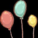 hp, balloons