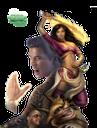 jade empire, fantasy, фэнтези, girl, warrior, fire sword, огненный меч, воин