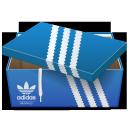 scewlid adidas, shoebox, sports shoes, adidas, обувная коробка, адидас