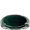basic plate teal