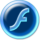 flash aqua circle