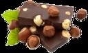 плитка шоколада, шоколад с орехами, черный шоколад, фундук, лесной орех, зеленый лист, a bar of chocolate, chocolate with nuts, dark chocolate, hazelnuts, hazelnut, green leaf, eine tafel schokolade, schokolade mit nüssen, dunkle schokolade, haselnüsse, haselnuss, grünes blatt, une barre de chocolat, chocolat avec des noix, chocolat noir, noisettes, feuille verte, una barra de chocolate, chocolate con nueces, chocolate negro, avellanas, avellana, hoja verde, una tavoletta di cioccolato, cioccolato con le noci, cioccolato fondente, nocciole, foglia verde, uma barra de chocolate, chocolate com nozes, chocolate escuro, avelãs, avelã, folha verde