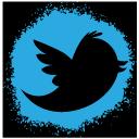 social, media, icons, spray, colour, icons, set, 512x512, 0002, twitter